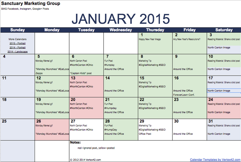 Step By Step Strategy To Creating A Powerful Social Media Calendar